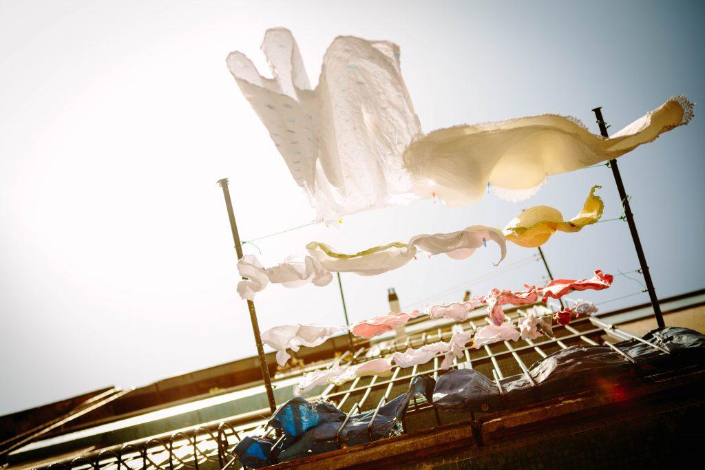 sustainable washing, laundry
