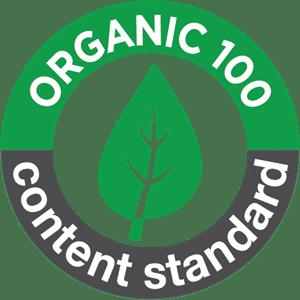 Organic cotton certified logo