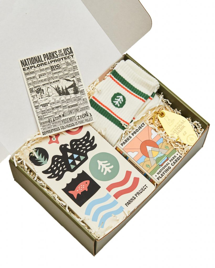 Parks Project Gift Set in Hey Social Good's Holiday Gift Guide