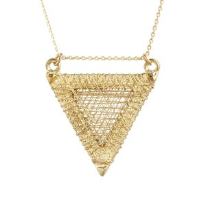 Golden Thread Necklace