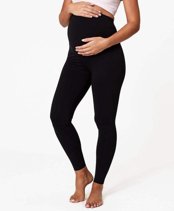 Women's Black Maternity Go-to Legging XL