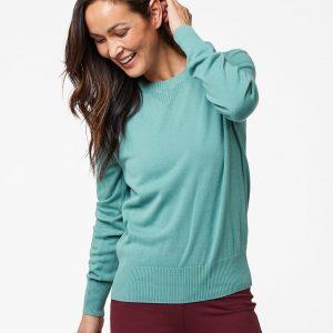 Women's Blue Spruce Sweater Sweatshirt S