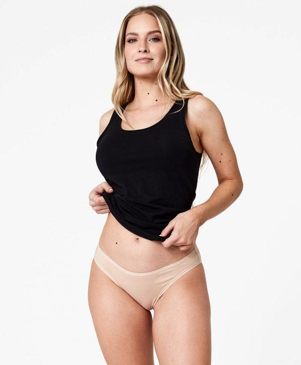 Women's Champagne Classic Fit Bikini XL