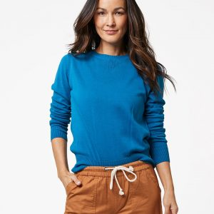 Women's Deep Ocean Sweater Sweatshirt L