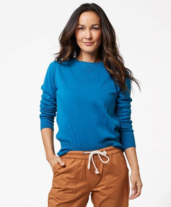 Women's Deep Ocean Sweater Sweatshirt L